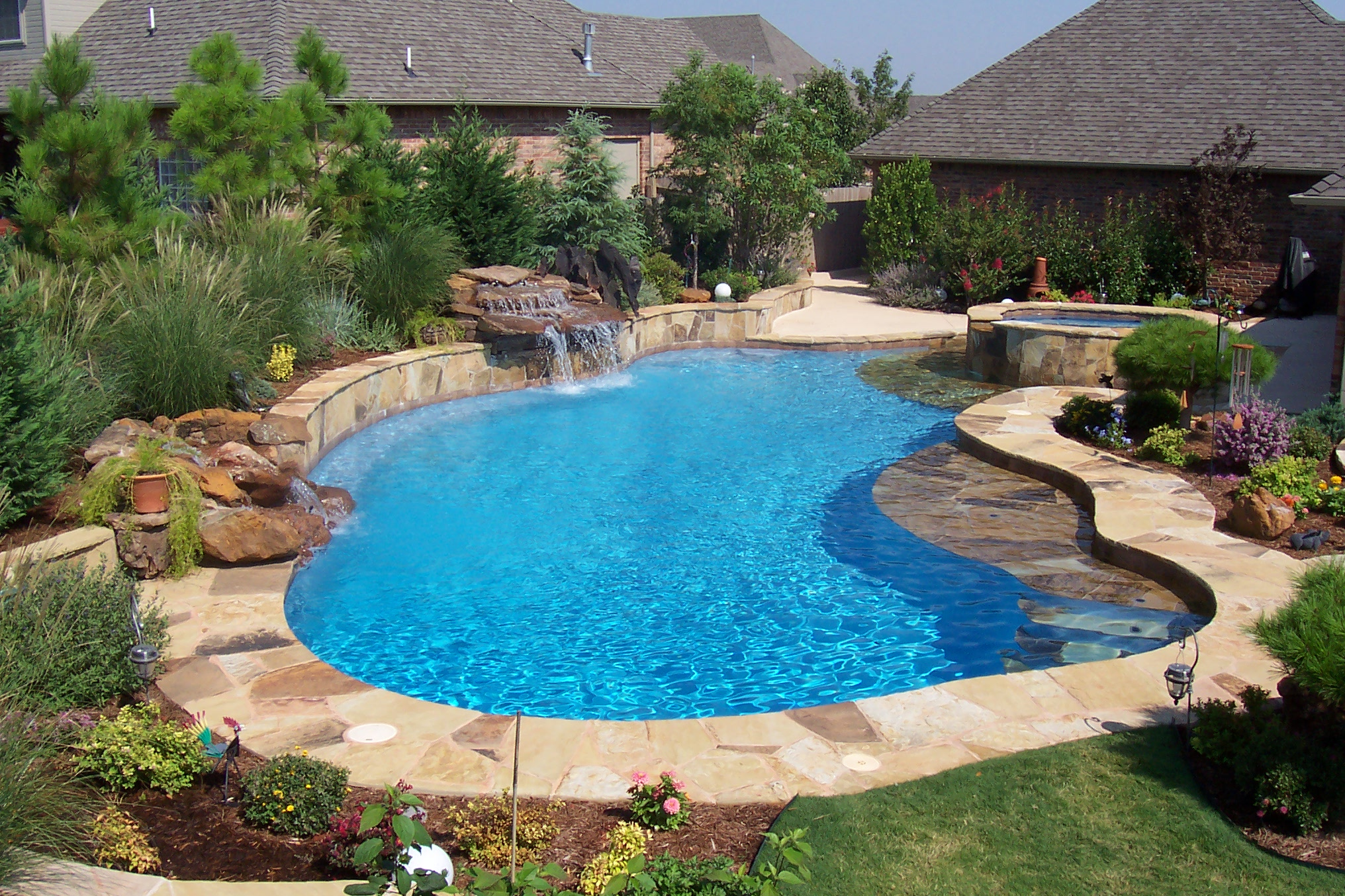 Free Form Pools Blue Haven Pools Tulsa
