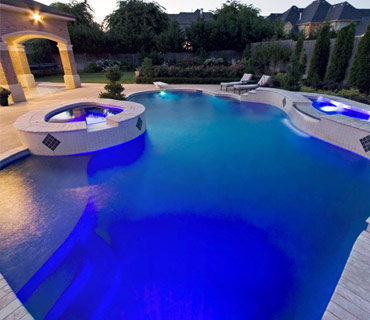 inground salt water swimming pools by Blue Haven Tulsa
