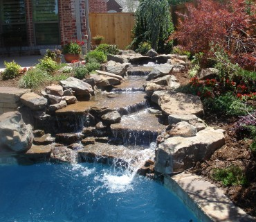 Blue Haven Pools Water Features in Tulsa OK