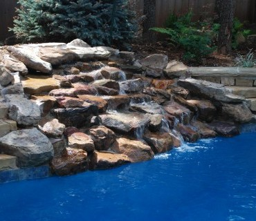 browken Arrow OK inground salt water swimming pools by Blue Haven Tulsa