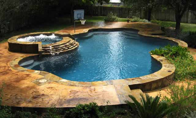 Swimming Pools Free Form Design