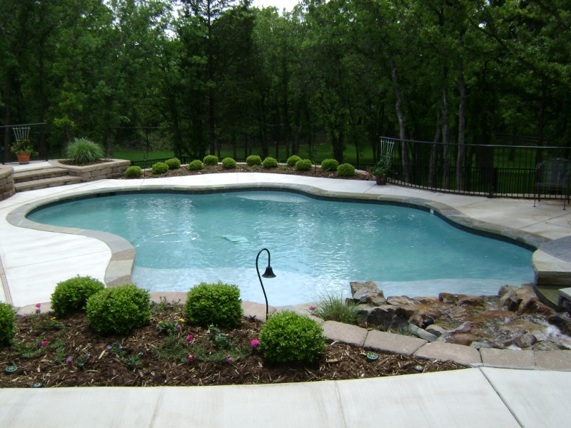 Free form pools blue haven pools tulsa for Free pool design