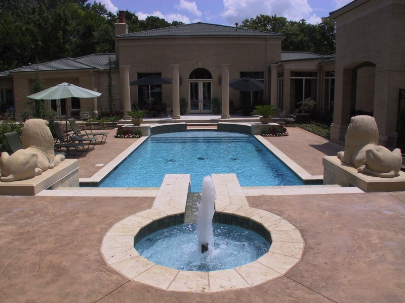 Water features oklahoma city tulsa blue haven pools Hot tubs tulsa